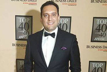 Vivek MD voted top 40 under 40